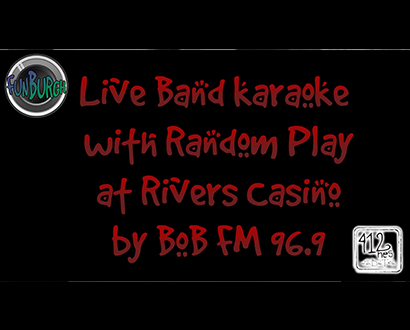 BobFM 96.9 Live Band Karaoke Contest with Random Play
