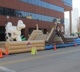 Pittsburgh Pirates Obstacle Course